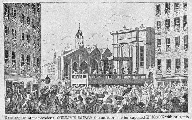 ウィリアム・バークの死刑