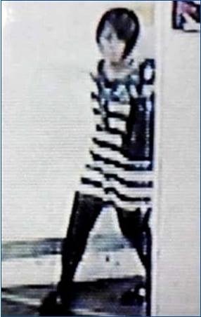 「平岡都さん」の最後の監視カメラに映った映像