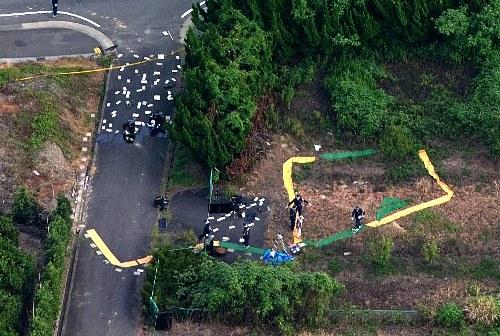三重県中3女子死亡事件の発見現場