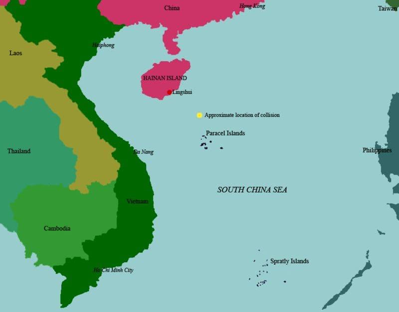 海南島事件の概要