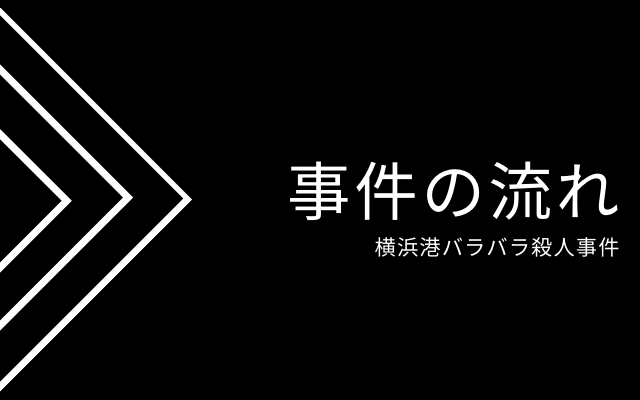 横浜港バラバラ殺人事件の流れ