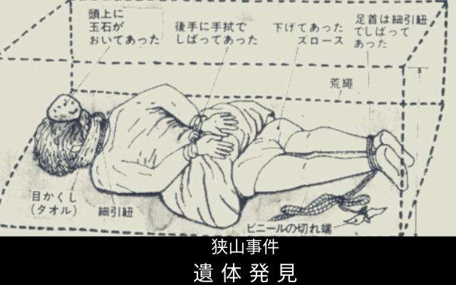 狭山事件: 遺体発見