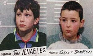 ジェームズ・バルガー事件では2人の犯人